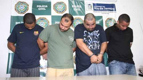 Acusados de sequestro são presos quando planejavam outros crimes