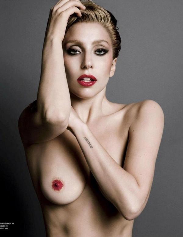 Blogueiro divulga fotos não censuradas de Lady Gaga nua