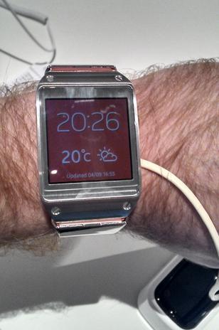 Galaxy Gear é intuitivo e fácil de usar; veja primeiras impressões