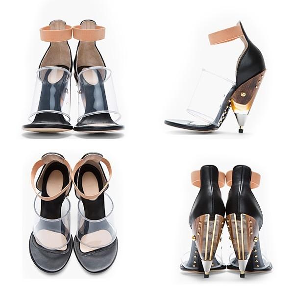Carolina Dieckmann usa sandália igual a de Kim Kardashian
