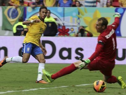 Com brilho de Neymar e reservas, Brasil massacra Austrália no Mané Garrincha, em Brasília