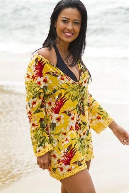 Ex-advogada da Globo, atriz de ?Flor do Caribe? emagreceu oito quilos