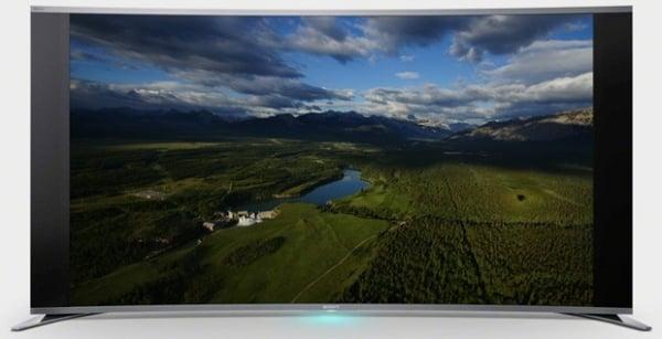 Sony lança a primeira TV LED curvada do mundo na IFA 2013
