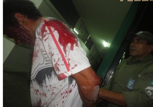 PI: Mãe agride filho com facão, após ser espancada