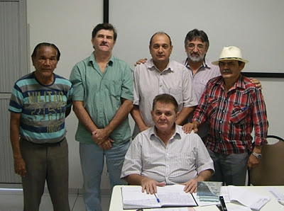 Patronos e membros da Academia de Letras do Vale do Longá