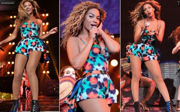 Figurinos usados por Beyoncé na nova turnê  tem muita sensualidade