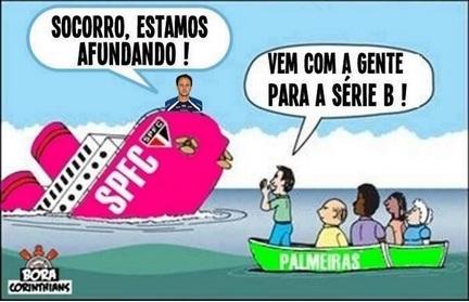 São Paulo é alvo de piadas após nova derrota