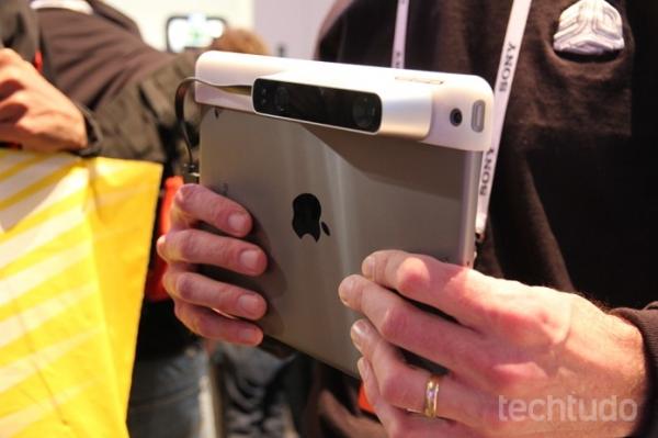 Scanner para iPad é capaz de capturar até imagens em 3D