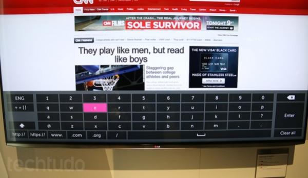 WebOS, nova cara das smartTVs LG, surpreende pela simplicidade e fluidez