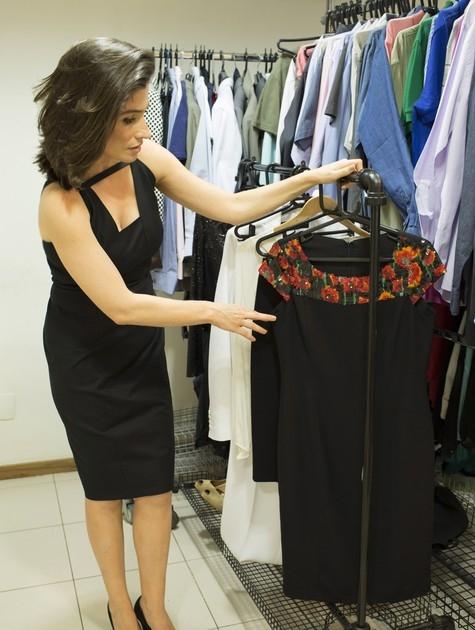 Renata Vasconcellos fala de seu figurino no
