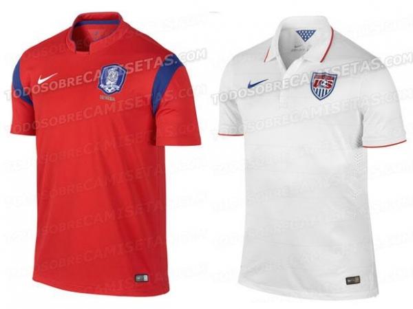 Site vaza camisas de Portugal e mais três seleções para Copa
