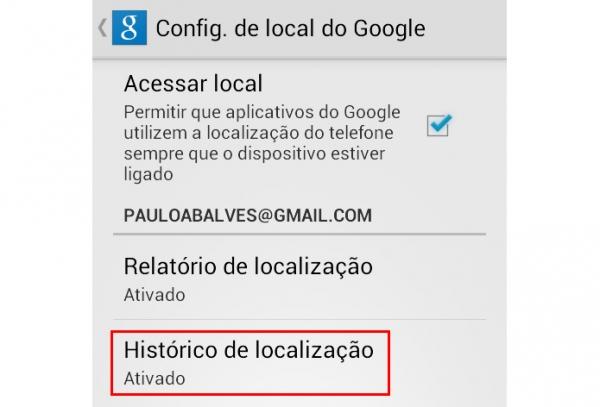 Histórico de localizações do Google: saiba como desativar e apagar