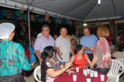 Prefeito de Regeneração recebe autoridades na nona noite de festejo