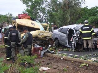 TRAGÈDIA: Grave acidente na PI 113 deixa três mortos e um ferido