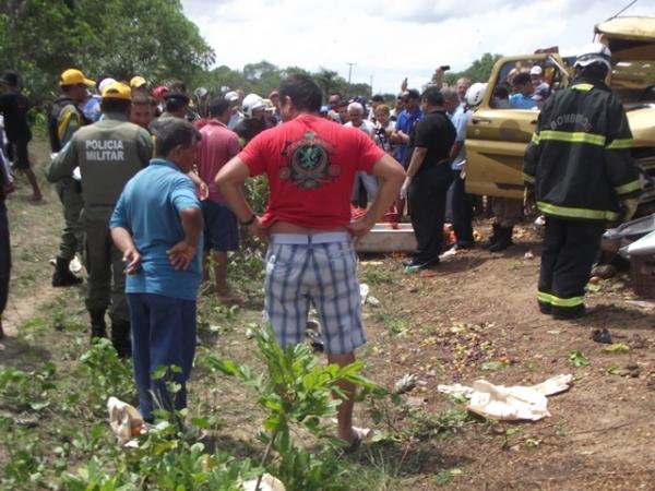 TRAGÈDIA: Grave acidente na PI 113 deixa três mortos e um ferido - Imagem 1