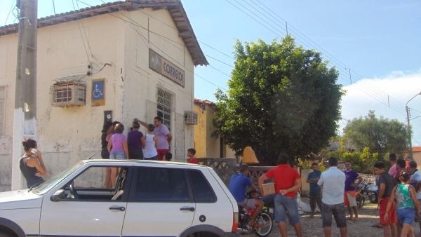 Agência dos Correios é novamente assaltada em São Francisco do Maranháo