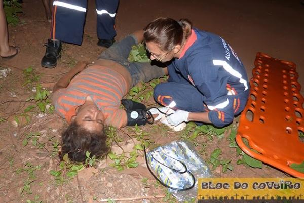 Duas pessoas ficam gravemente feridas em acidente de moto em Cocal