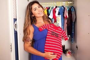 Prestes a dar à luz, Jaque Khury mostra quarto e o enxoval de Gael