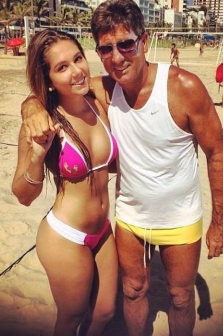 Renato Gaúcho manda Carol Portaluppi para Nova York. Pai quer filha longe de polêmicas