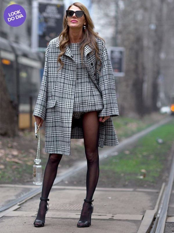 Look do dia: Anna Dello Russo