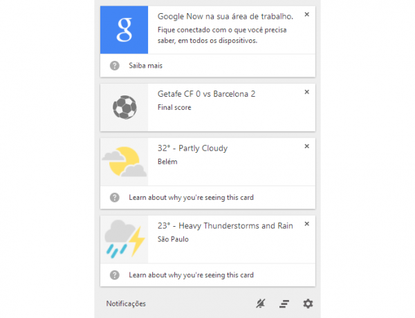 Como usar o Google Now no Chrome para desktop; teste o assistente