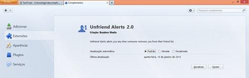 Saiba como cancelar o app que denuncia  quem não é mais seu amigo no Facebook