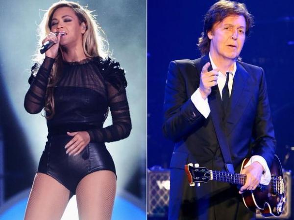 Beyoncé e Paul McCartney farão show na Copa, diz jornal