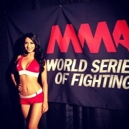 Ring girls indicadas ao ?Oscar do MMA? mostraram boa forma em 2013