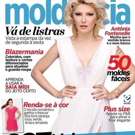 Antonia Fontenelle diz que namorado Emerson Sheik escolheu foto para capa de revista: ?Entende muito de moda?