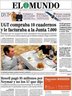 Polêmica envolvendo contrato de Neymar cria briga entre jornais