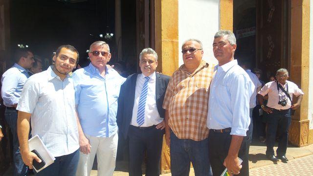 Prefeito Zé Sena participa das comemorações pelo Dia do Piauí em Piracuruca com Governador Wilson Martins