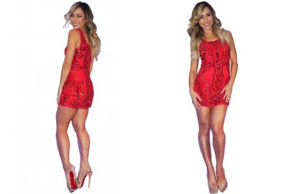 Vestidos bordados queridinhos de Sabrina Sato custam até R$ 4 mil