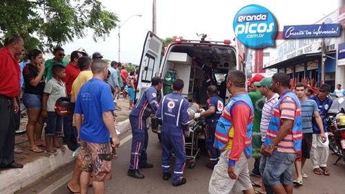 Ladrão morre após furtar moto e colidir com carro