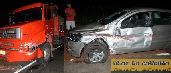 Dois veiculos colidem ap motorista tentar desviar de ciclista em Cocal