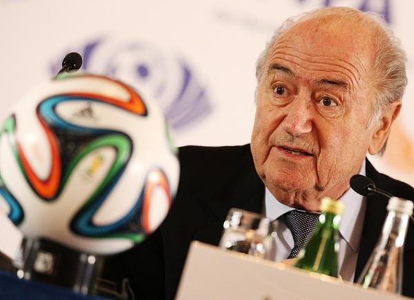 A Copa no Brasil está mais atrasada do que na África do Sul, diz Blatter