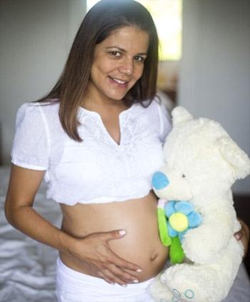 Nívea Stelmann exibe quarto da primeira filha, Bruna. Veja as fotos