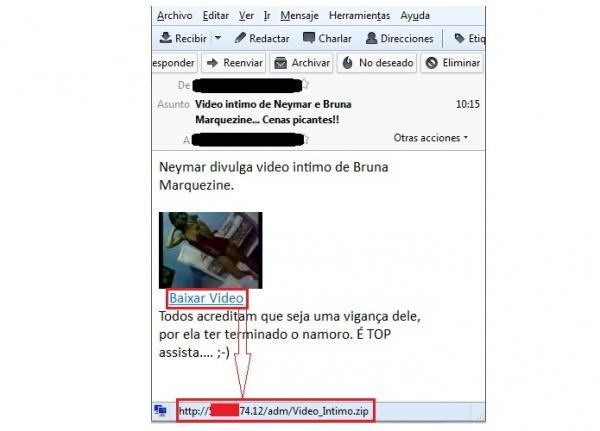 Suposto vídeo de Neymar e Bruna Marquezine é usado para roubar senhas bancárias
