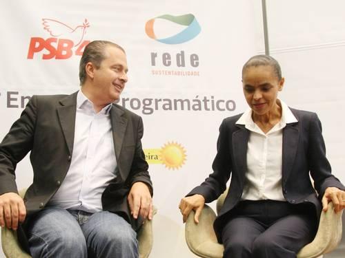 Marina veta apoio do PSB a Alckmin e concorda ser lançada vice de Campos
