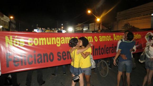 Para Feliciano, beijaço só fortalece possível candidatura presidencial