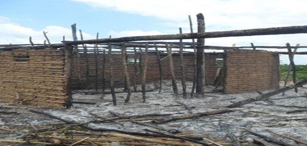 Casebre utilizado para venda e consumo de droga é incendiada no interior