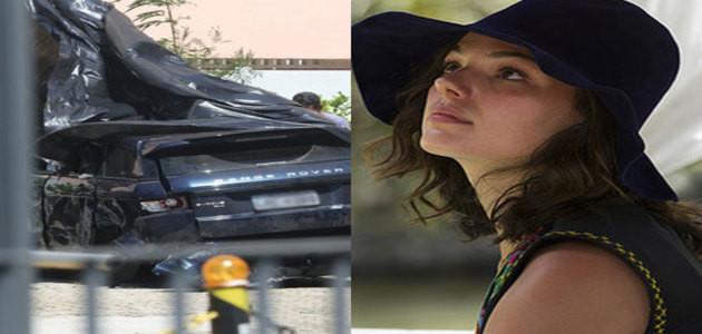 Isis Valverde é internada após sofrer acidente com amigos no Rio de Janeiro; carro sofreu perda total
