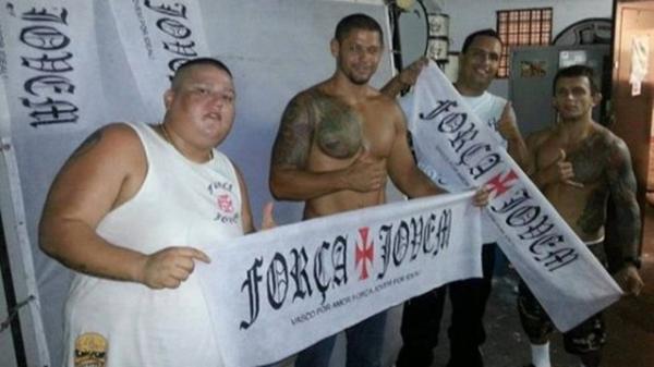 Ap brigar em Joinvile, presidente da maior organizada do Vasco  preso
