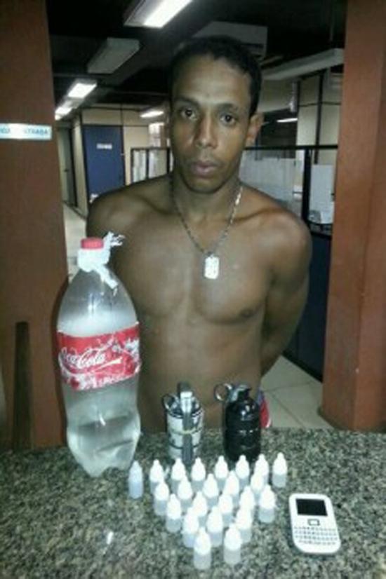 Homem que matou mulher a socos é capturado em Itaboraí portando granadas