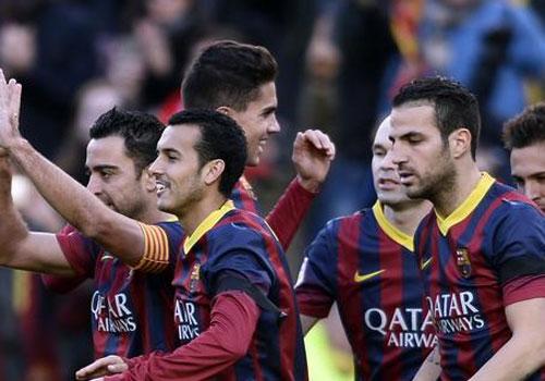 Sánchez comanda vitória do Barça em dia de Neymar reserva