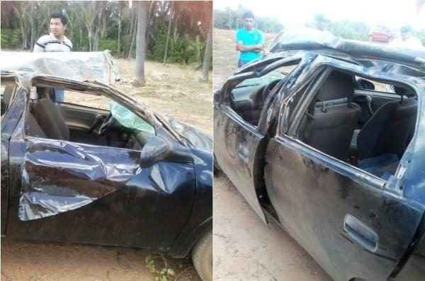 Jovem é vítima de acidente na PI-331 em Boqueirão do Piauí
