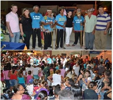 MASSAPÊ: Prefeitura promove festa dos Reis com apresentação cultural do Grupo de Reisado