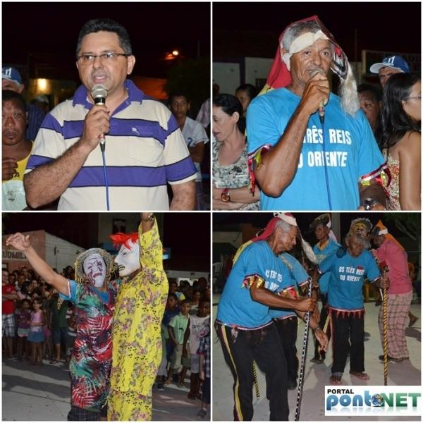 MASSAPÊ: Prefeitura promove festa dos Reis com apresentação cultural do Grupo de Reisado - Imagem 18