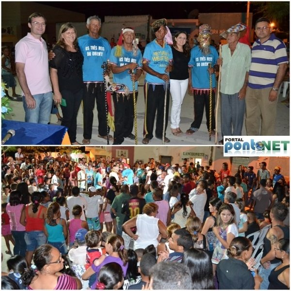 MASSAPÊ: Prefeitura promove festa dos Reis com apresentação cultural do Grupo de Reisado - Imagem 16