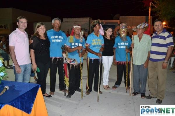 MASSAPÊ: Prefeitura promove festa dos Reis com apresentação cultural do Grupo de Reisado - Imagem 1