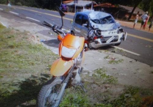 Grave acidente deixa duas vítimas fatais em Barão de Grajaú no Maranhão